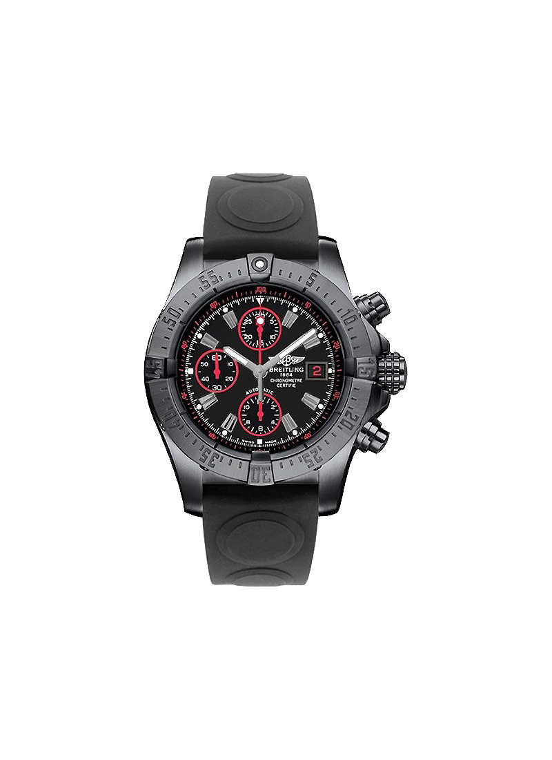 Breitling Avenger Chronograph in Black PVD Steel