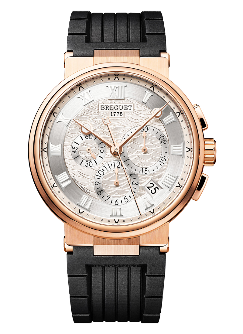 Breguet Marine Chronograph 42.3mm in Rose Gold