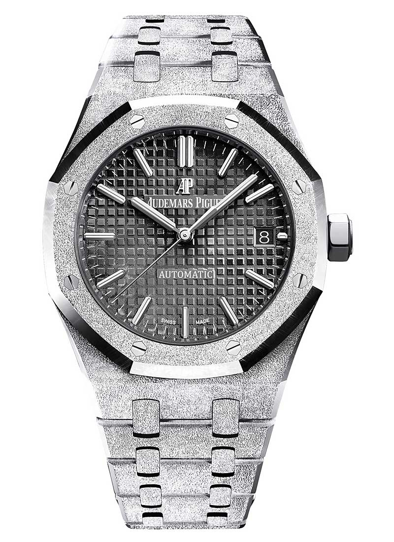 Audemars Piguet Royal Oak 37mm Frosted in White Gold