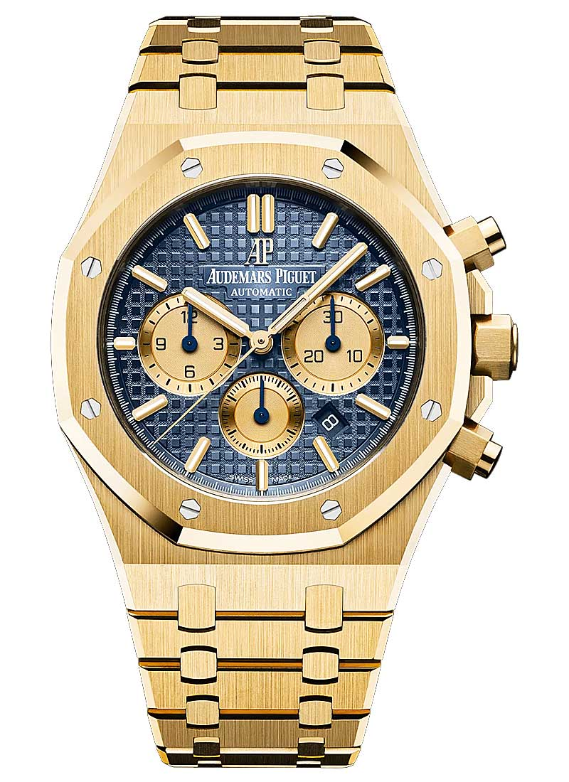 Audemars Piguet Royal Oak Chronograph in Yellow Gold