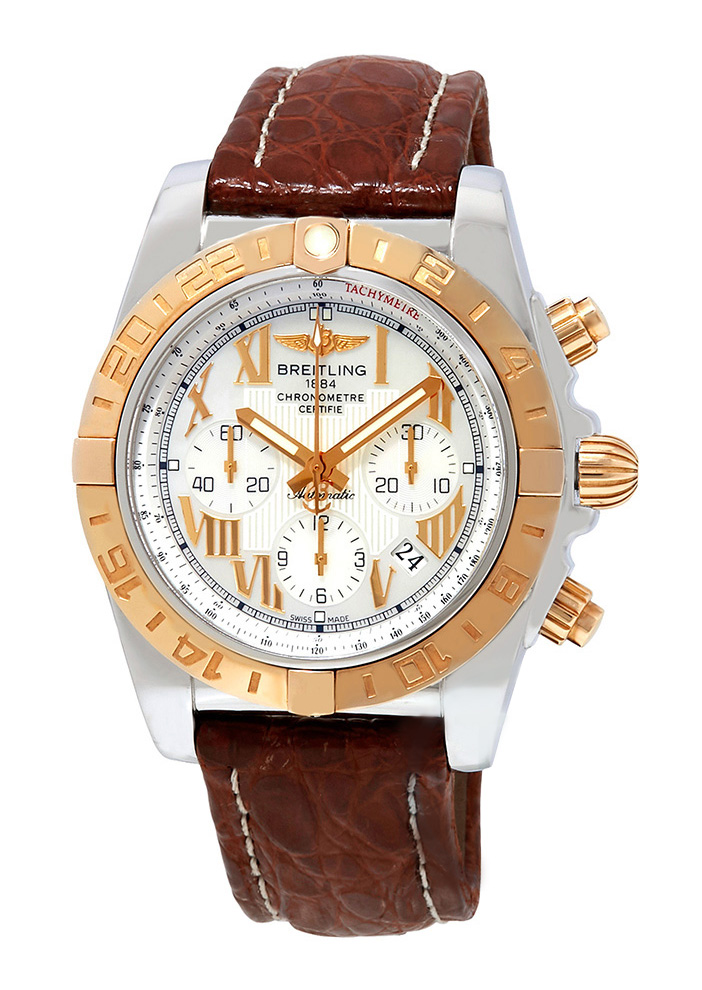 Breitling Chronomat B01 Men's Automatic Chronograph in Steel with Rose Gold Bezel
