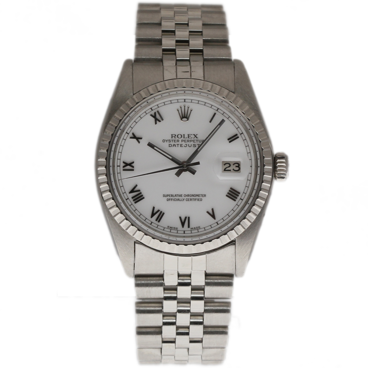 Pre-Owned Rolex Datejust 36mm in Steel