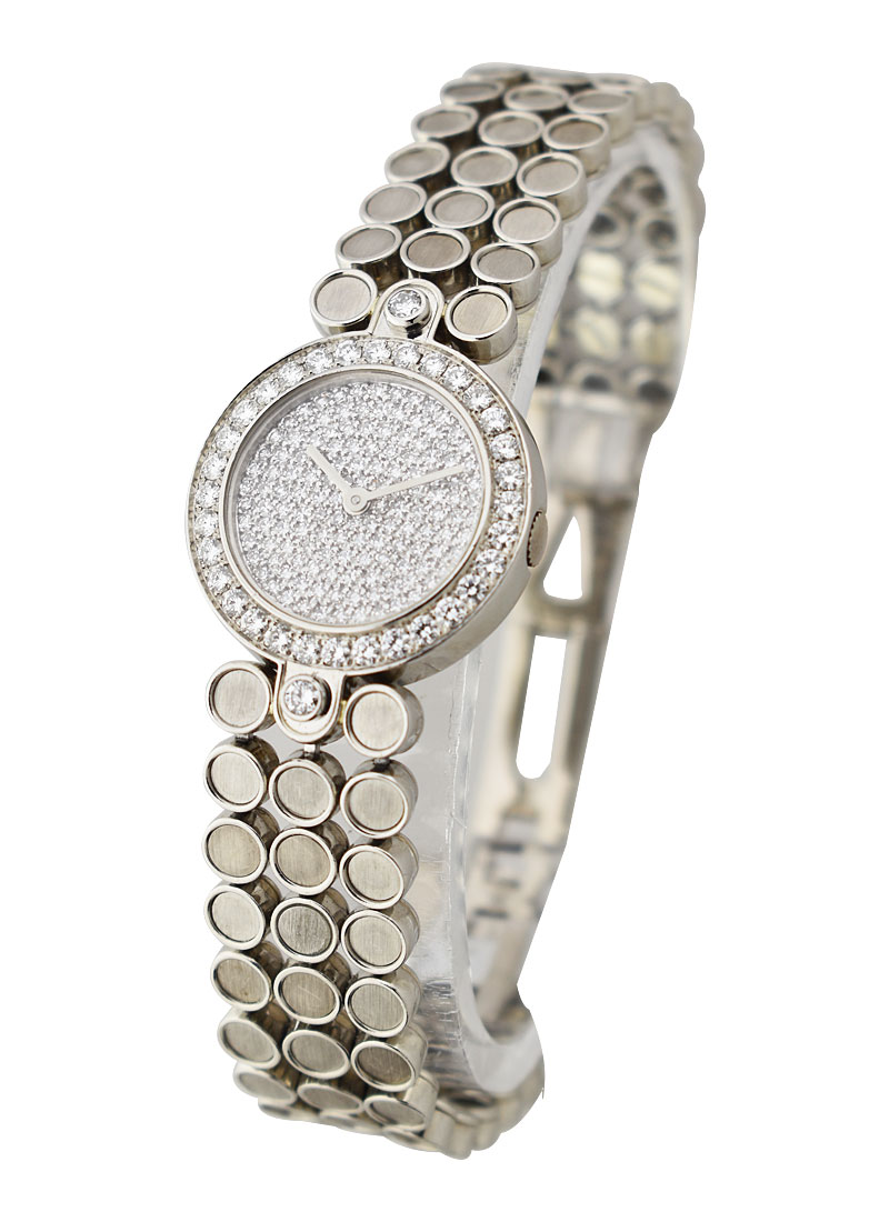 Harry Winston Premier Lady's with Pave Diamond Dial