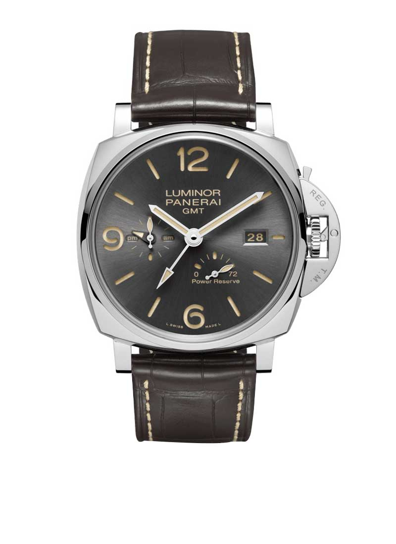 Panerai PAM 944 - Luminor Due 3 Days GMT Power Reserve in Stainless Steel