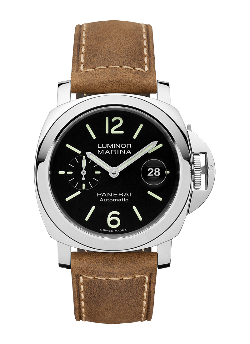 Panerai PAM 01104 - Luminor Marina Automatic in Steel