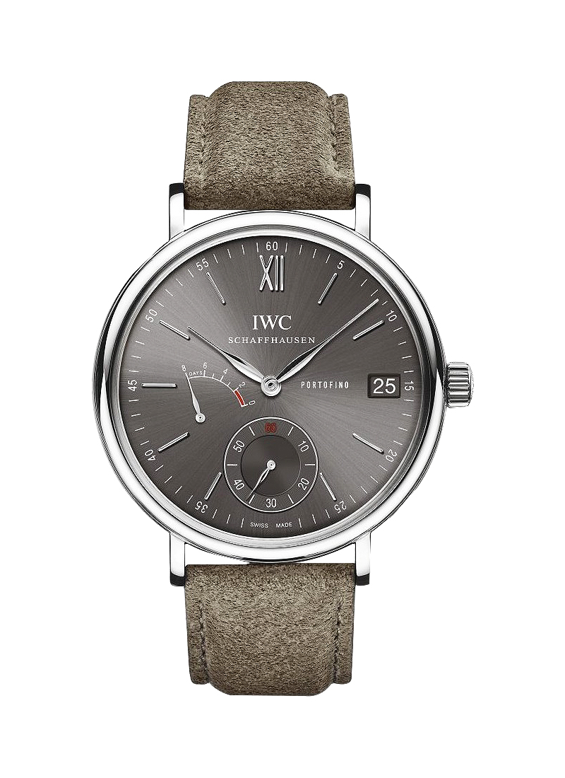 IWC Portofino Hand-Wound Eight Days in Steel