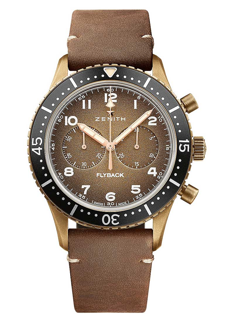 Zenith Pilot Chronograph 43mm in Bronze