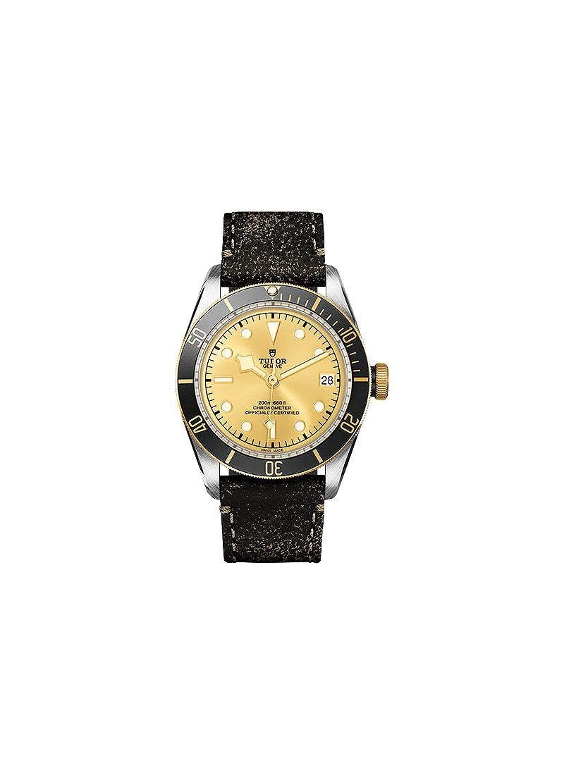 Tudor Heritage Black Bay 41mm in Steel and Yellow Gold
