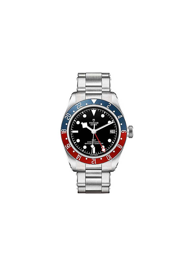 Tudor Heritage Black Bay GMT in Stainless Steel