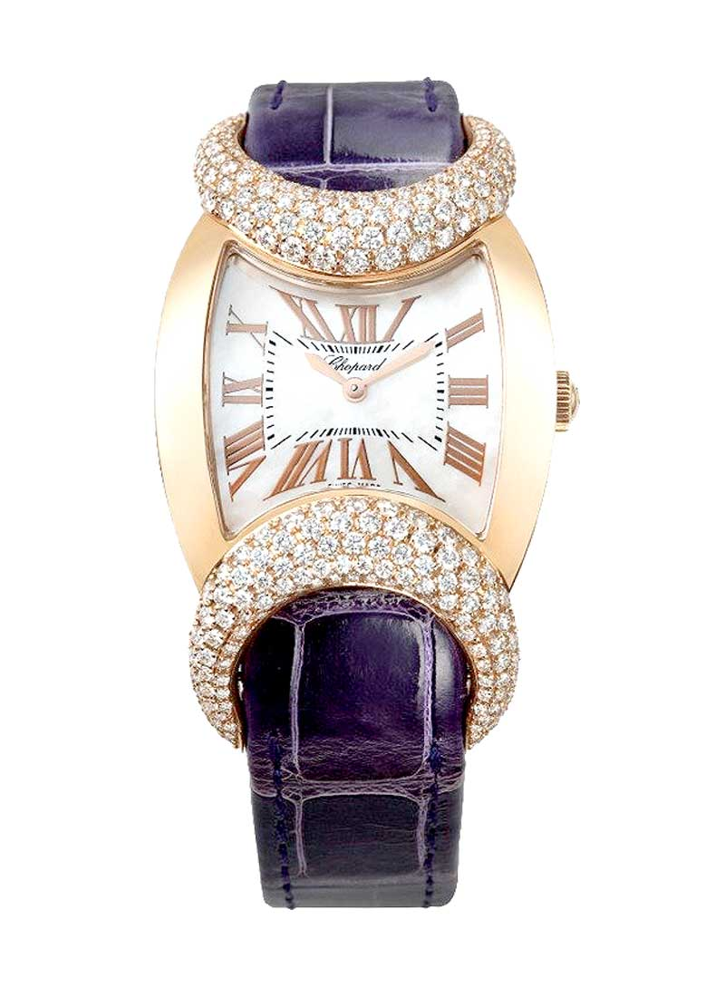 Chopard Carissima Boutique Edition in Rose Gold with Diamonds