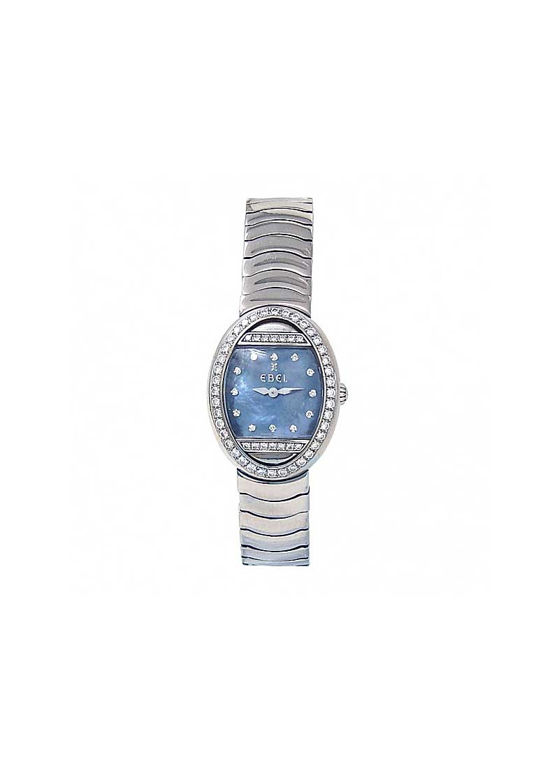 Ebel Beluga Mini in Stainless Steel with Diamond Bezel