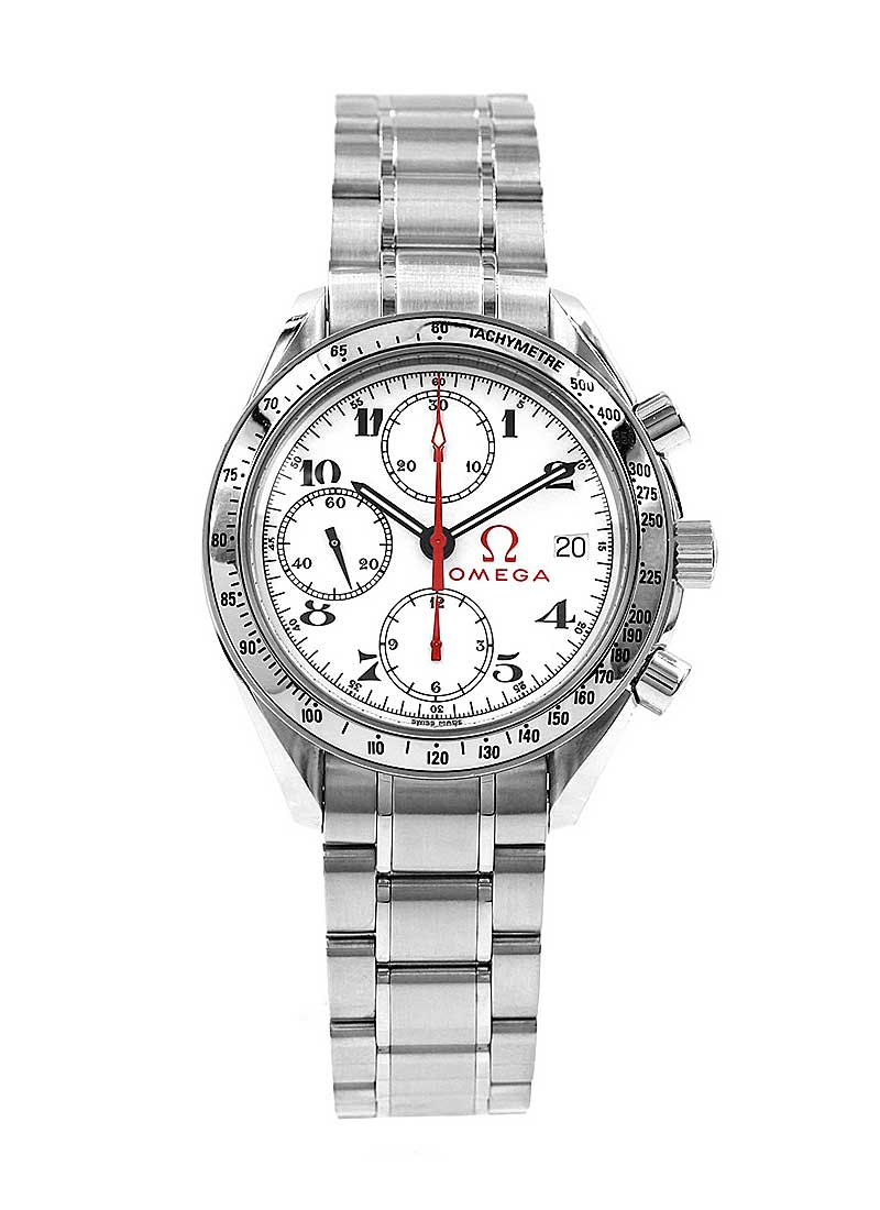 Omega Speedmaster Olympic Collection 39mm in Stainless Steel with Tachymetre Bezel