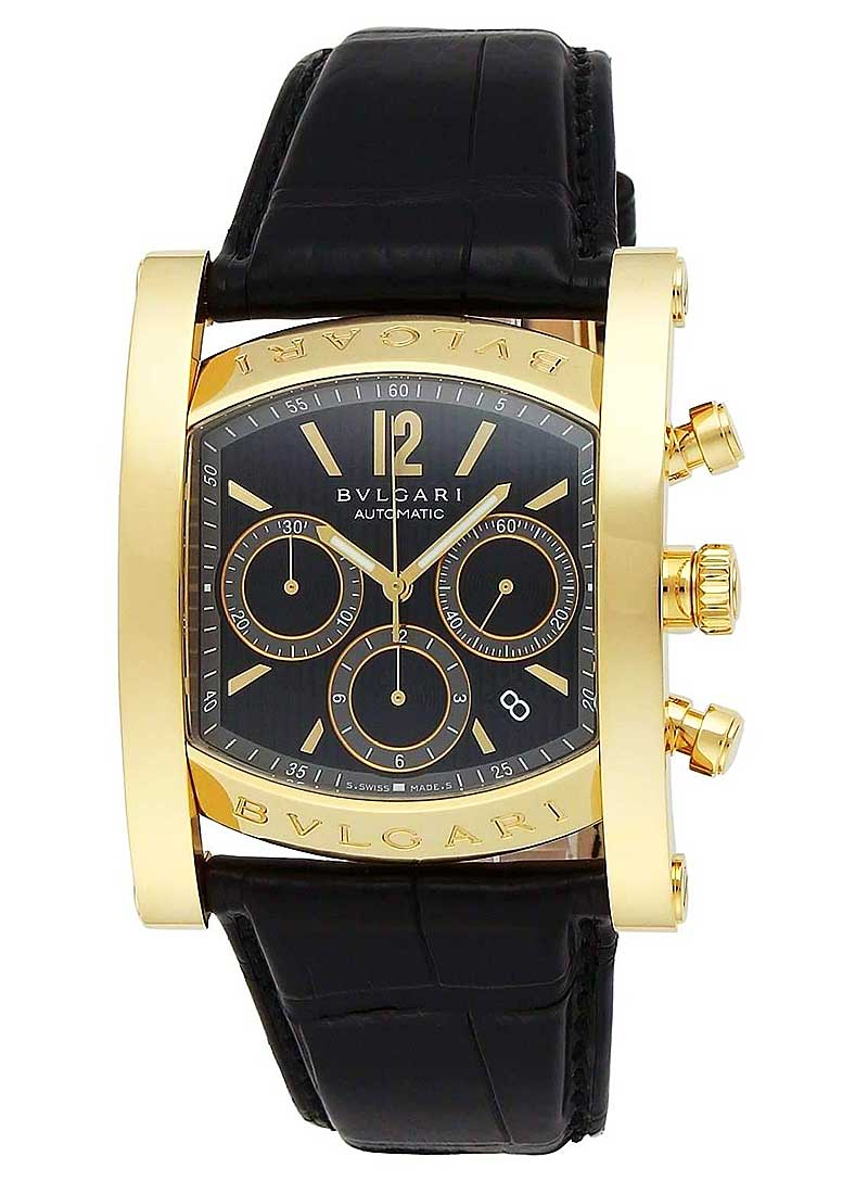 Bvlgari Assioma Chronograph in Yellow Gold