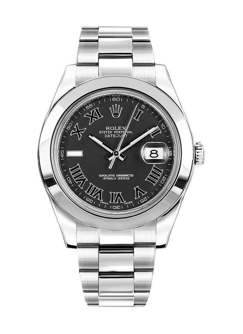 Rolex Used Datejust II 41mm in Steel with Smooth Bezel