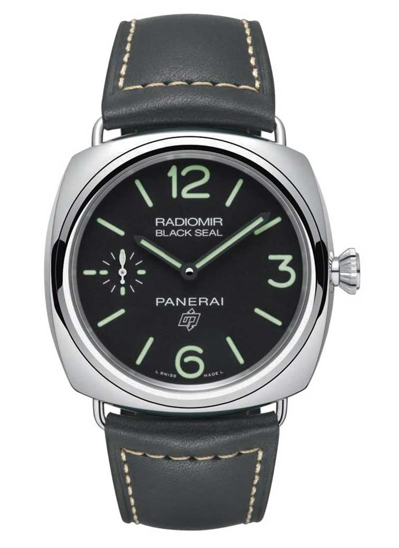 Panerai PAM 754 - Black Seal Radiomir in Steel