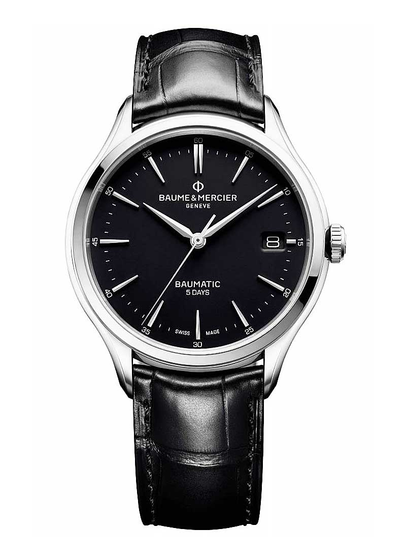 Baume & Mercier Clifton in Steel
