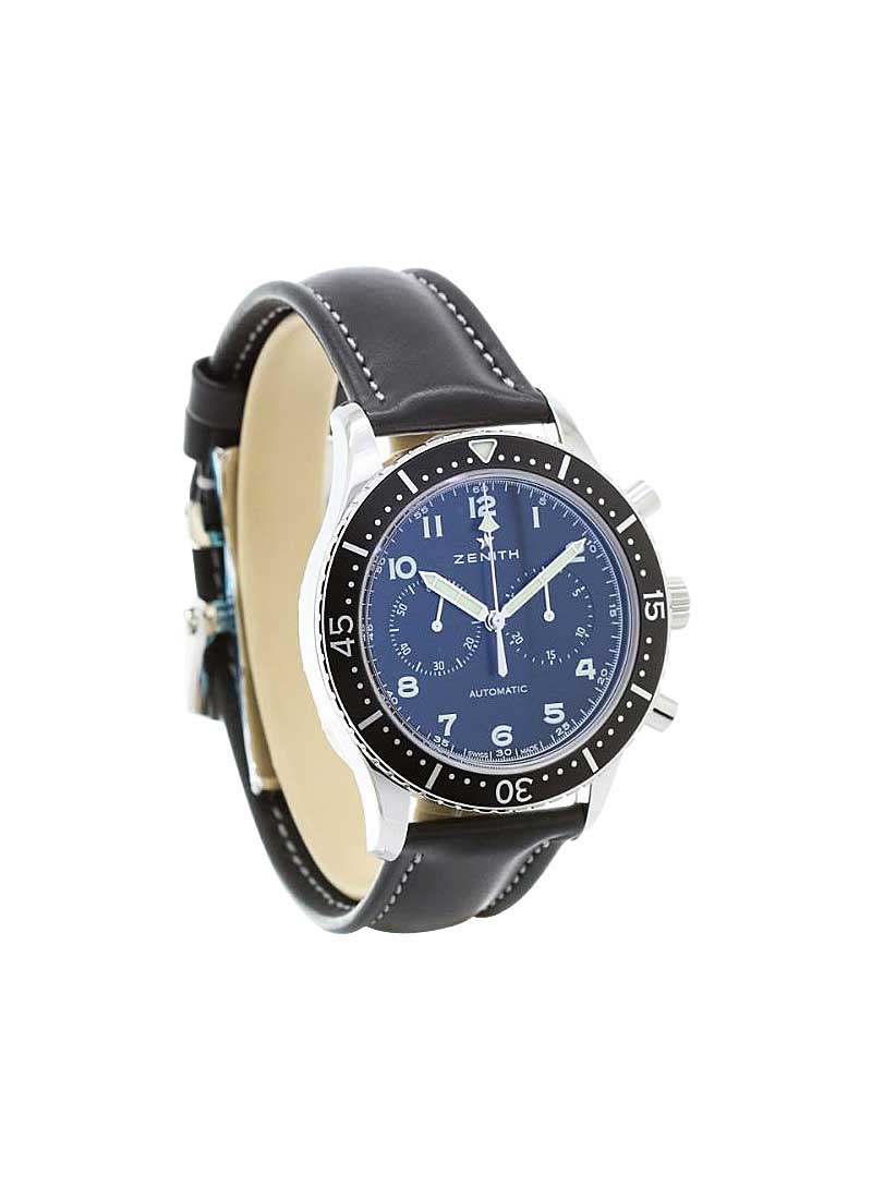 Zenith Pilot Chronometro Tipo CP-2 Mens 43mm Automatic in Steel
