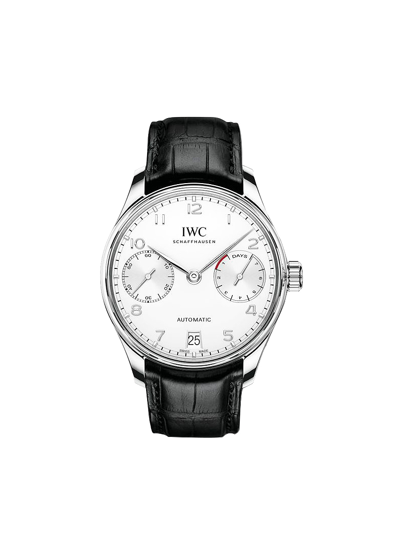 IWC Portuguese 7 Days 42mm in Stainless Steel