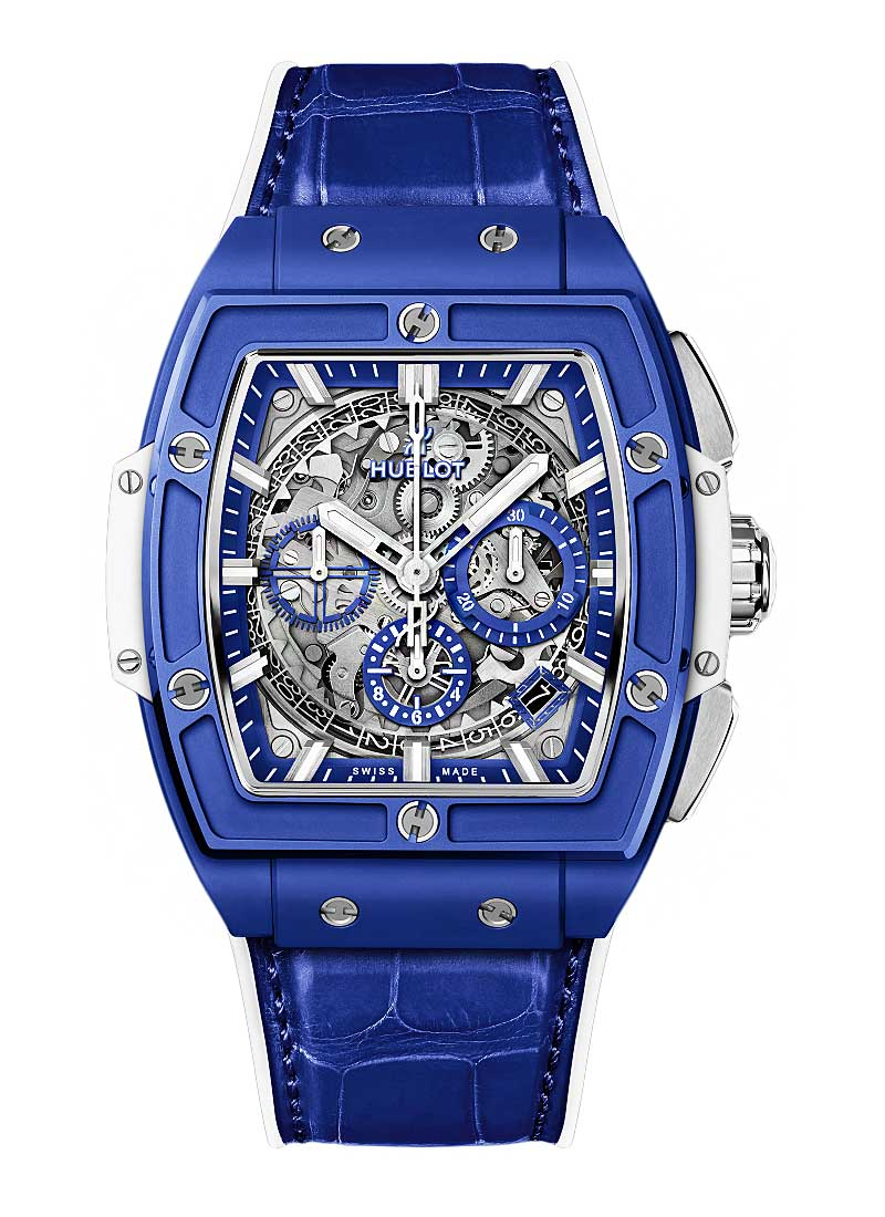 Hublot Spirit Of Big Bang Chronograph in Blue Ceramic - Limited Edition 100 pieces