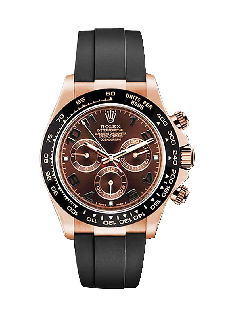 Pre-Owned Rolex Daytona Chronograph in Rose Gold with Ceramic Bezel