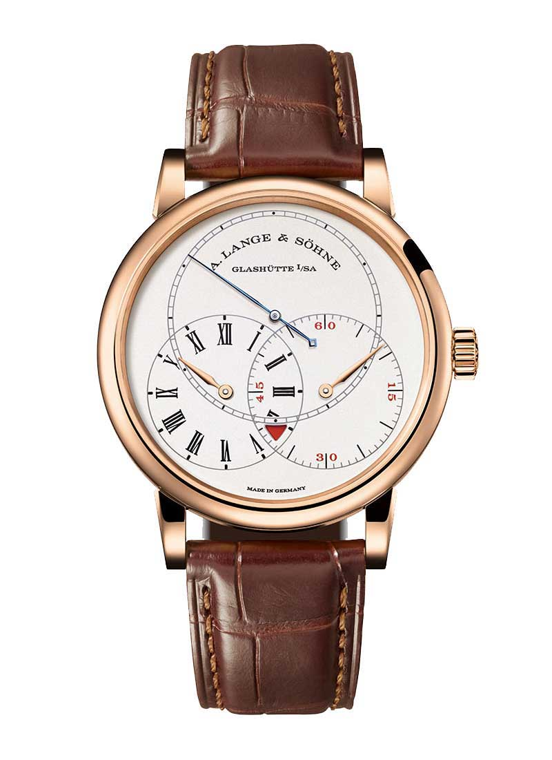 A. Lange & Sohne Richard Lange Jumping Seconds in Rose Gold - L.E. 100 Pieces