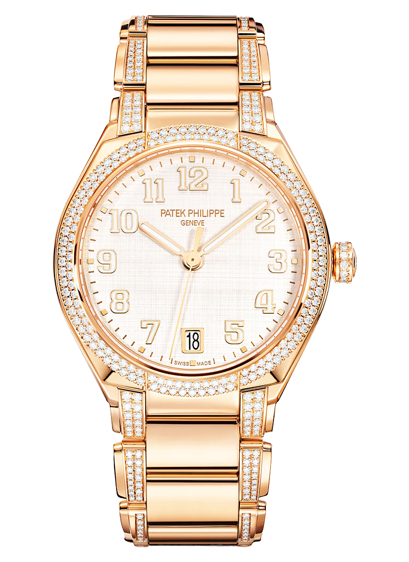 Patek Philippe Twenty 4 Automatic 36mm Automatic in Rose Gold with Diamond Bezel