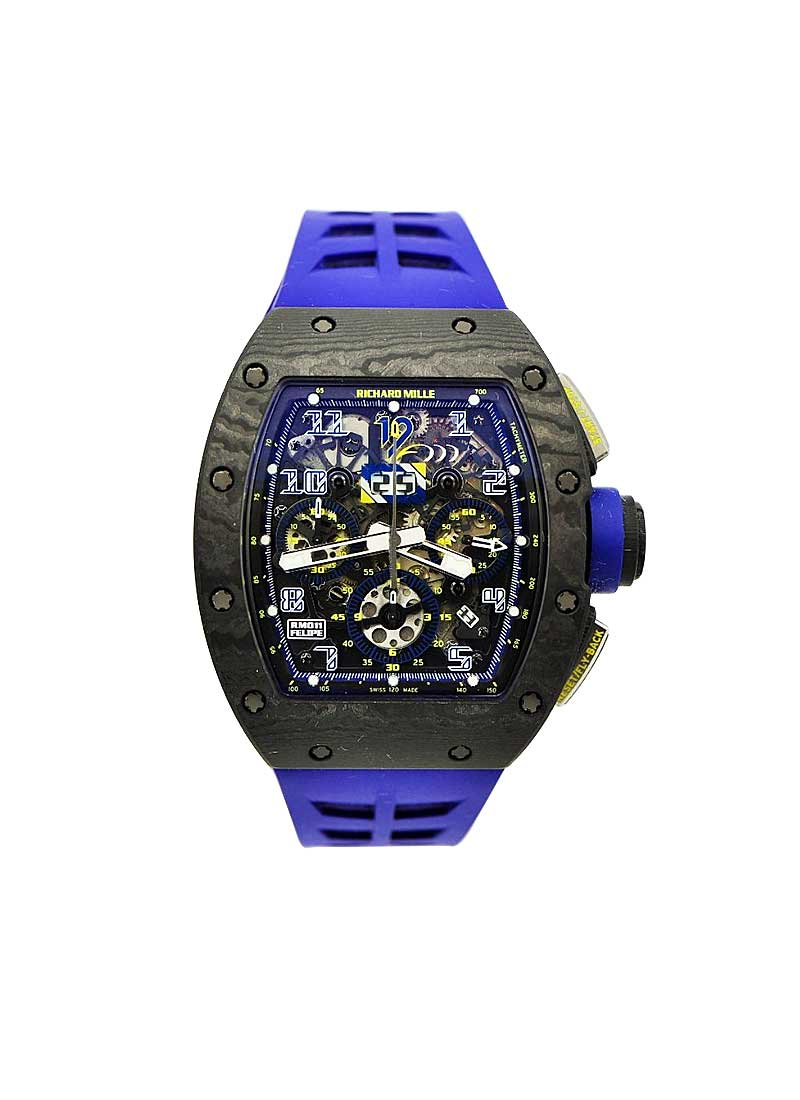 Richard Mille RM011 Felipe Massa NTPT 10th Anniversary Limited Edition in Titanium