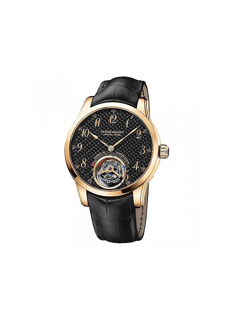 Ulysse Nardin Classic Anchor Tourbillon in Rose Gold