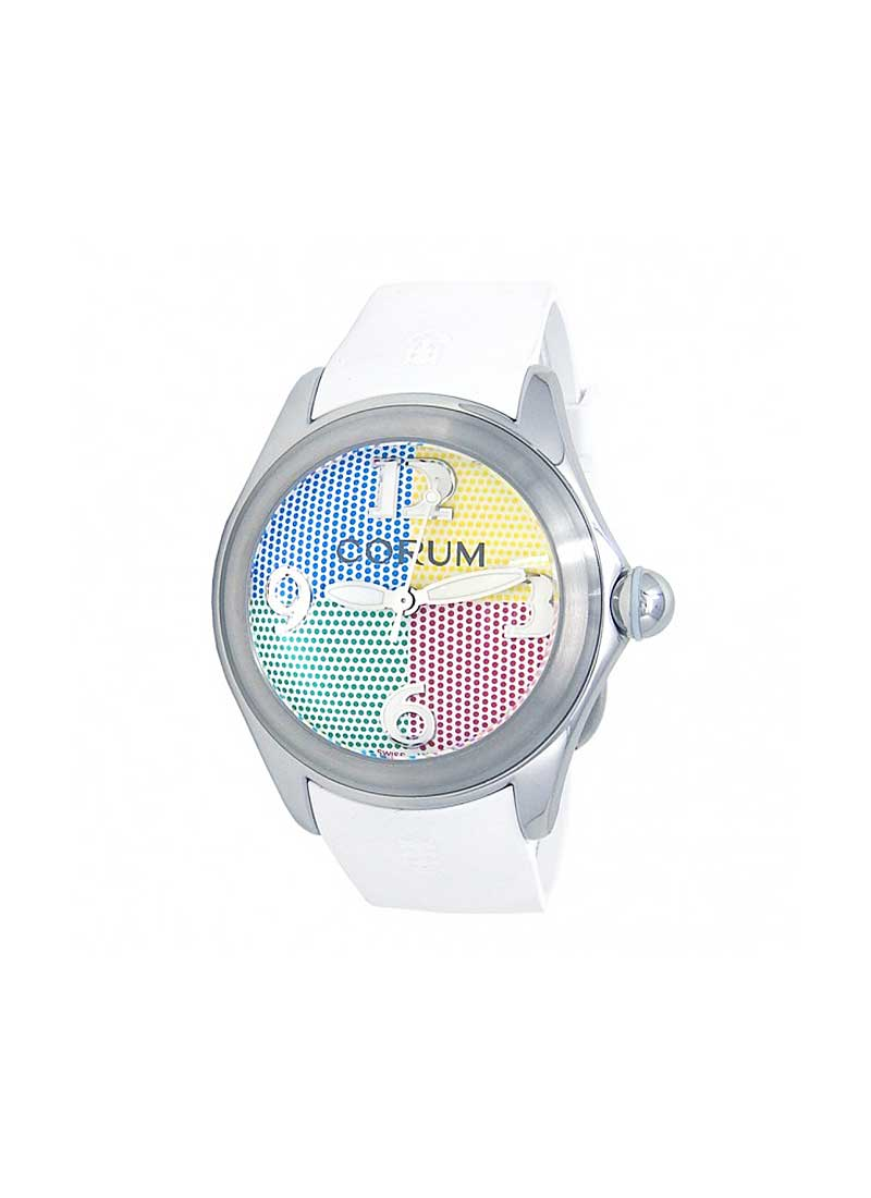 Corum Bubble 47mm 4 Colors in Stainless Steel