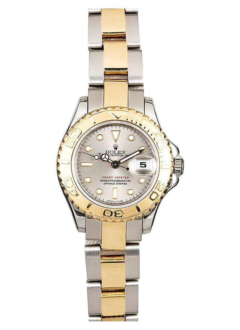 Pre-Owned Rolex Yacht-Master 2-Tone 29mm in Steel with Yellow Gold Thunderbird Bezel