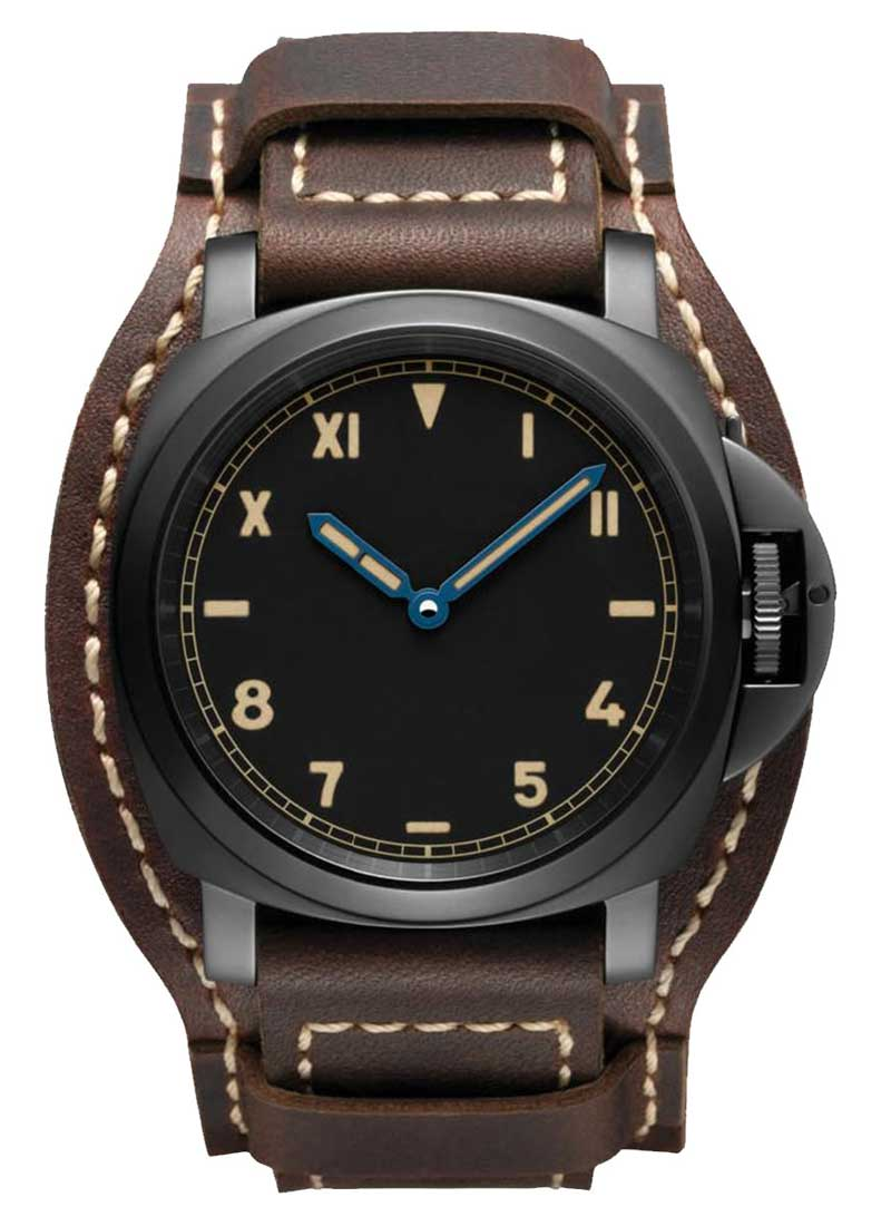 Panerai Luminor California 8 Days 44mm in DLC Coated