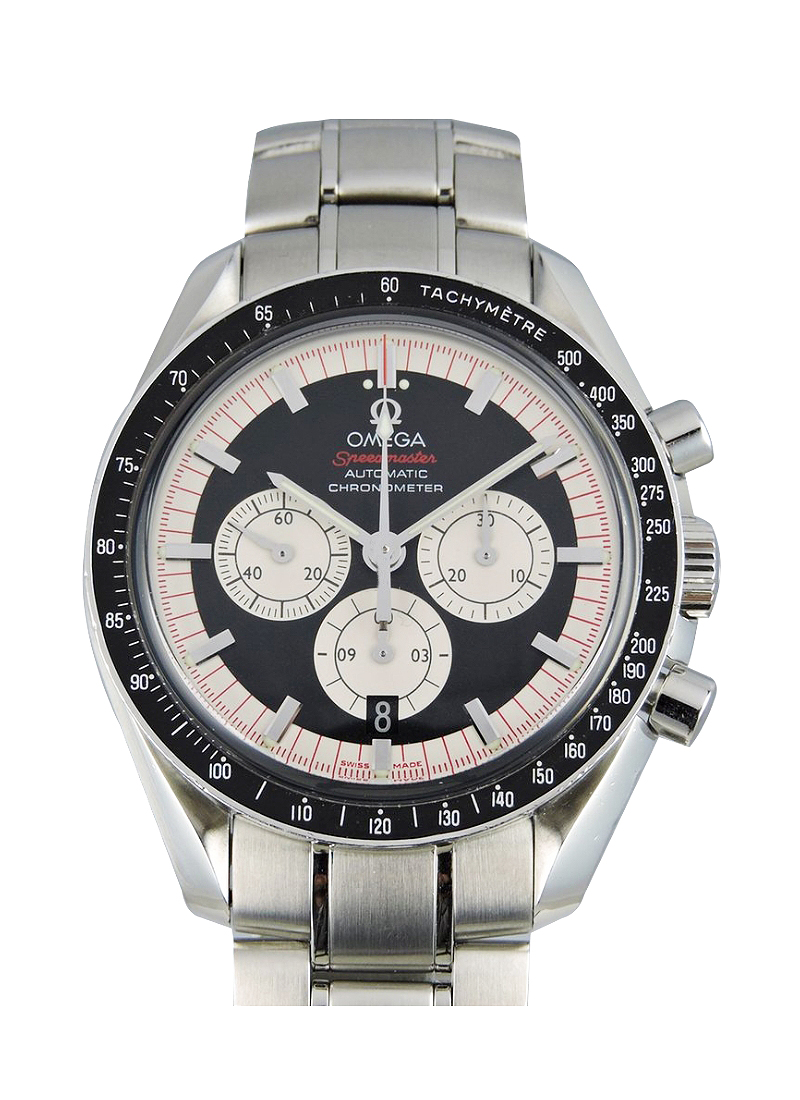 Omega Speedmaster Michael Schumacher The Legend Chronograph in Steel