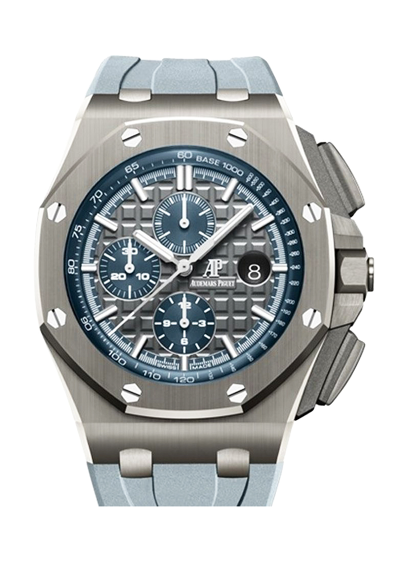 Audemars Piguet Royal Oak Chronograph Automatic in Grey Ceramic - Boutique Exclusive