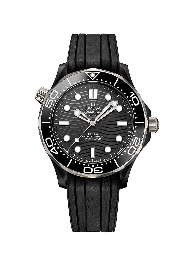 Omega Seamaster Diver 300m Co-Axial Master Chronometer 43.5mm in Ceramic