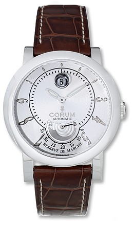 Corum Classical Power Reserve 44mm in Steel
