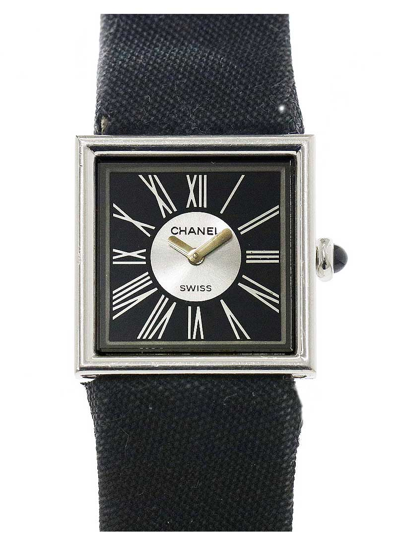 Chanel Mademoiselle Dress Watch in White Gold