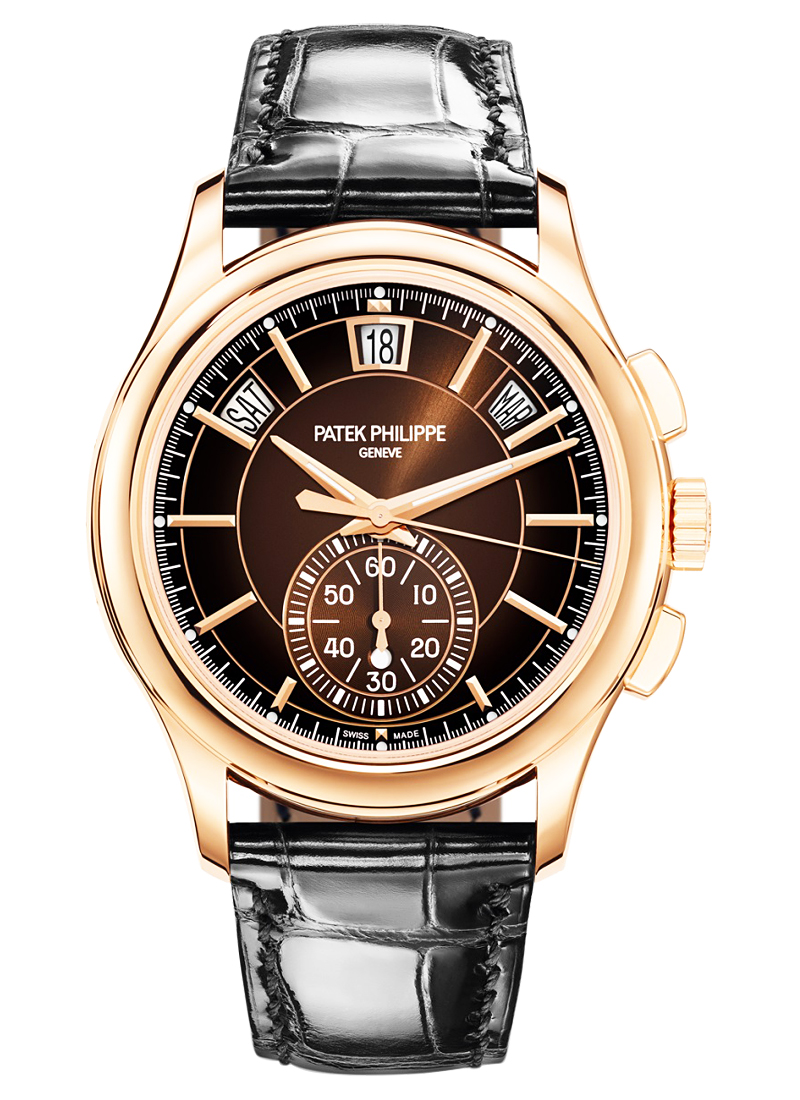 Patek Philippe 5905R Annual Calendar Chronograph in Rose Gold