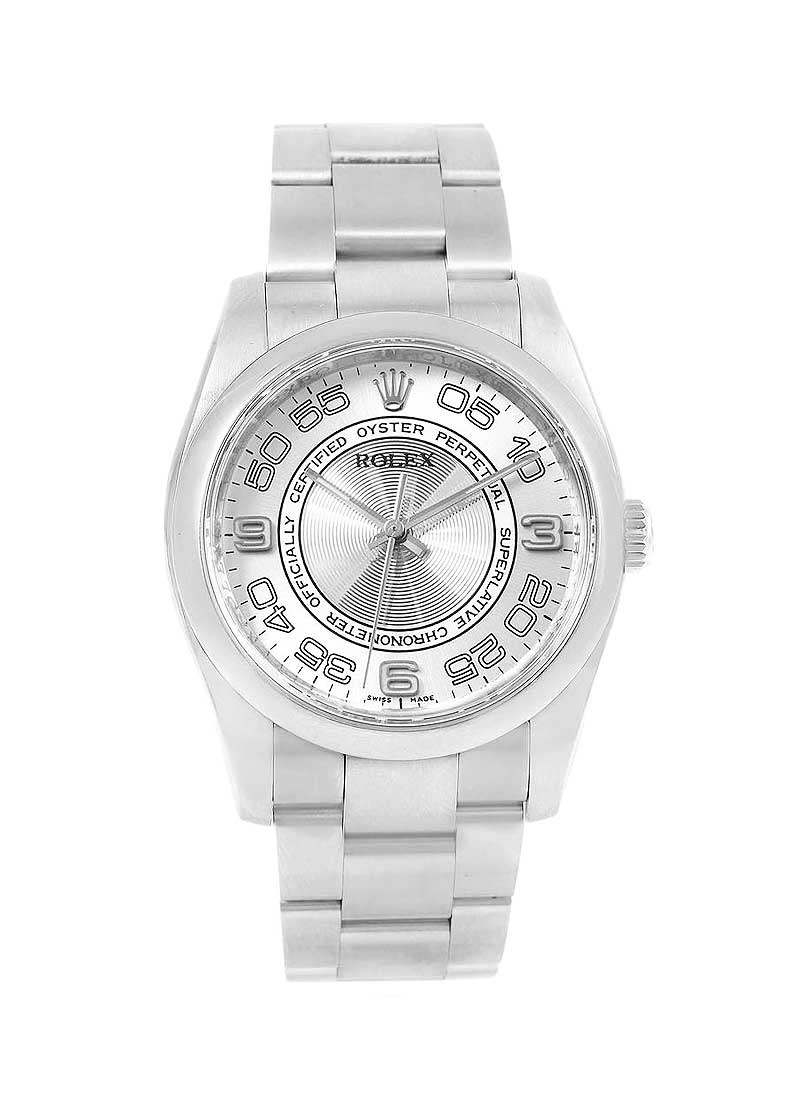 Pre-Owned Rolex Oyster Perpetual 36mm in Steel Smooth Bezel