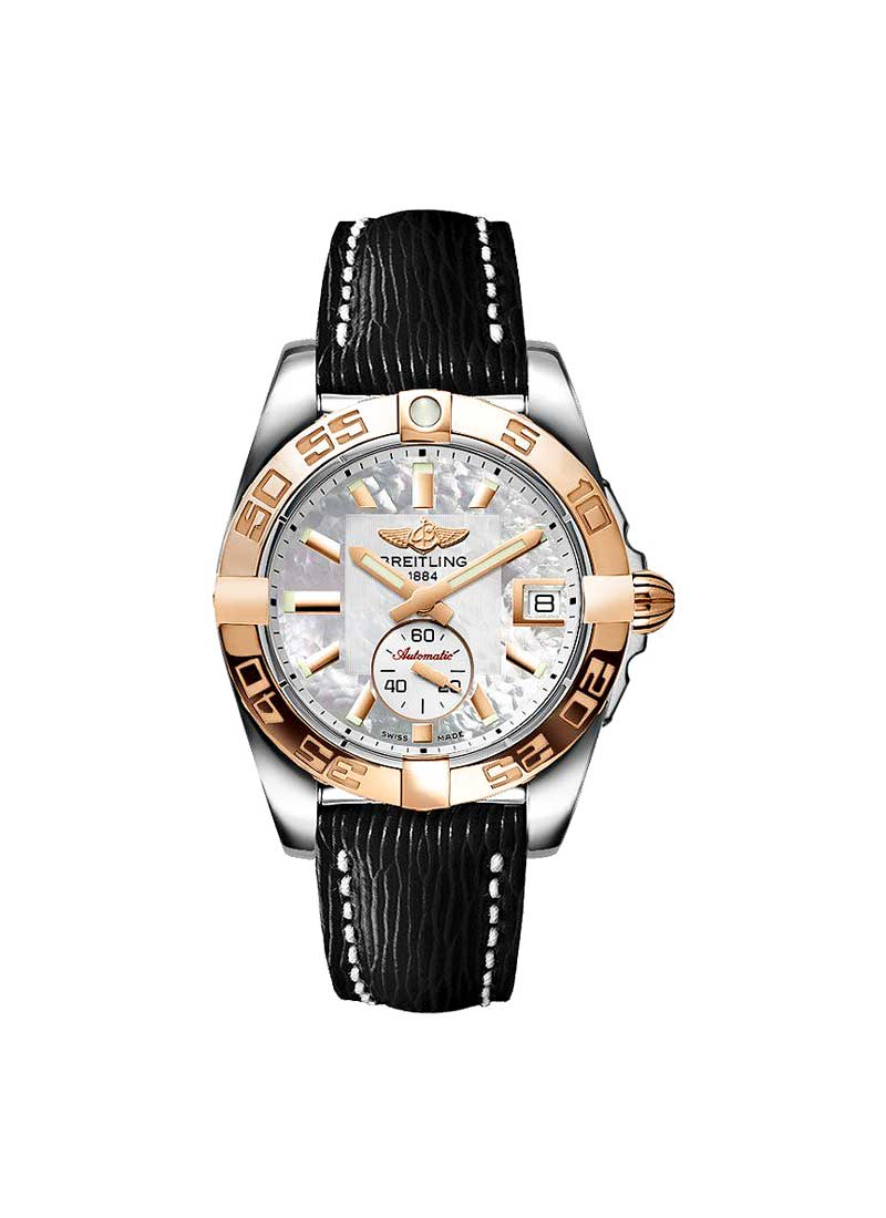 Breitling Galactic 36 2-Tone in Steel with Rose Gold Bezel