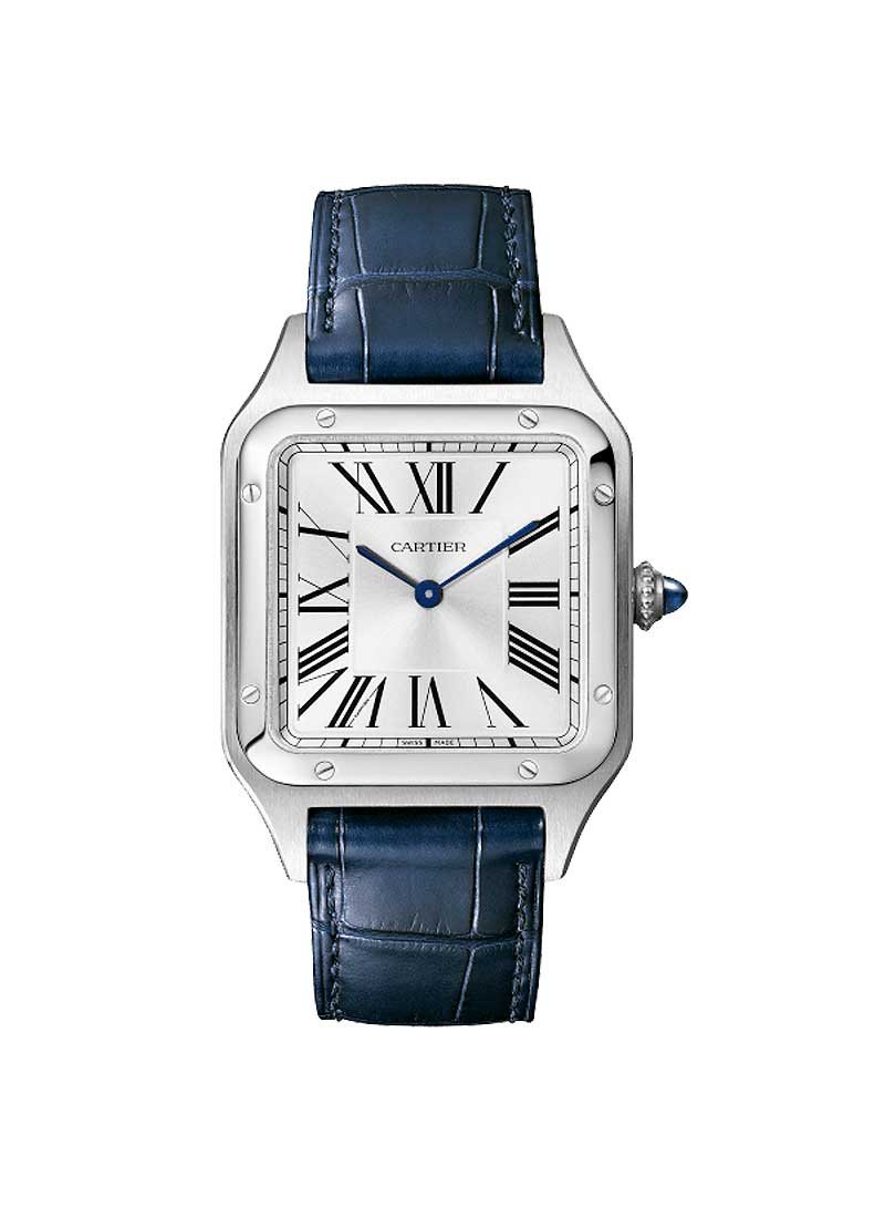 Cartier Santos Dumonte Large in Steel