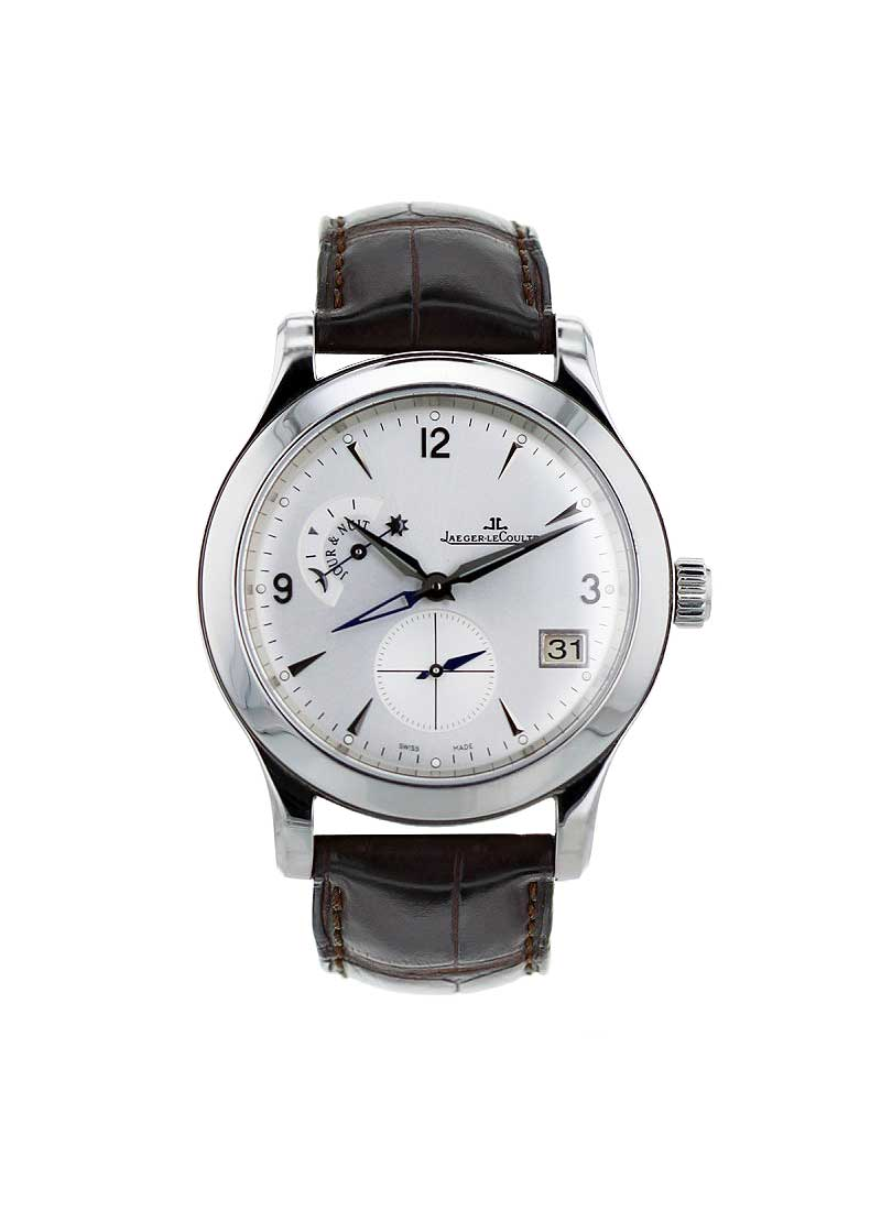Jaeger - LeCoultre Master Control Hometime in Steel