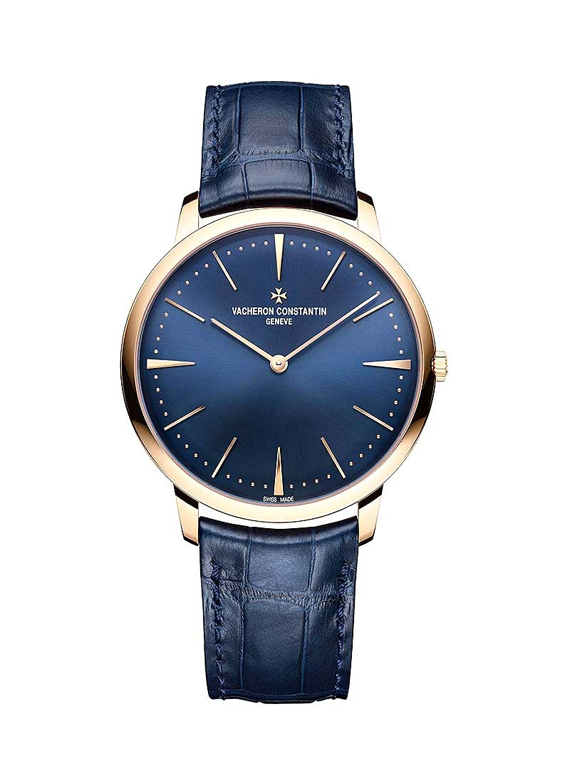 Vacheron Constantin Patrimony Contemporaine Boutiques Exclusive in Rose Gold