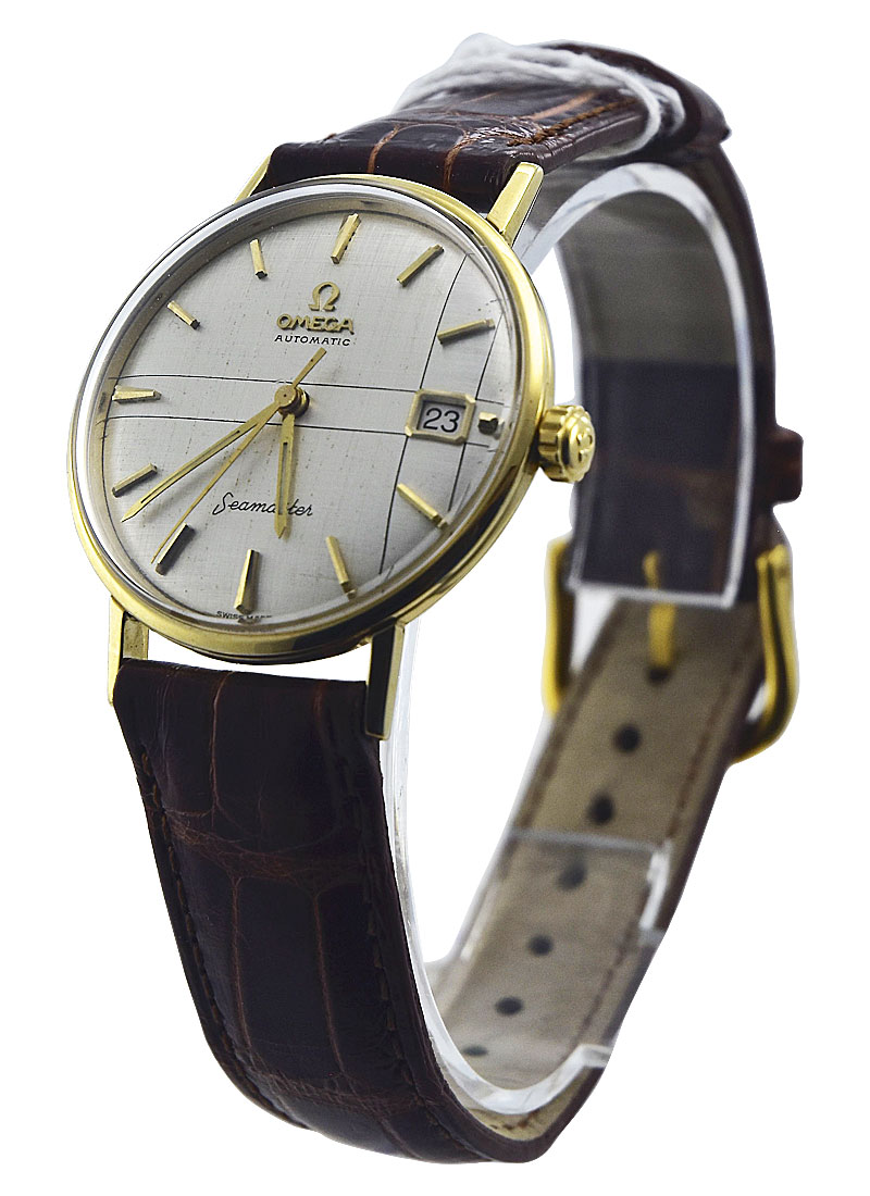 Vintage Watches Omega Seamaster  Automatic 14k Rare Vintage 1960's Circa