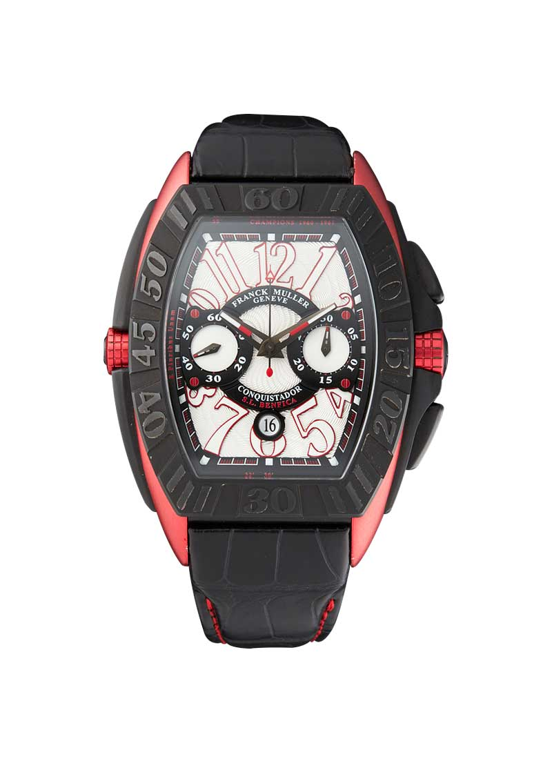 Franck Muller Conquistador Singapore GP in Black and Red PVD Steel - Limited to 80