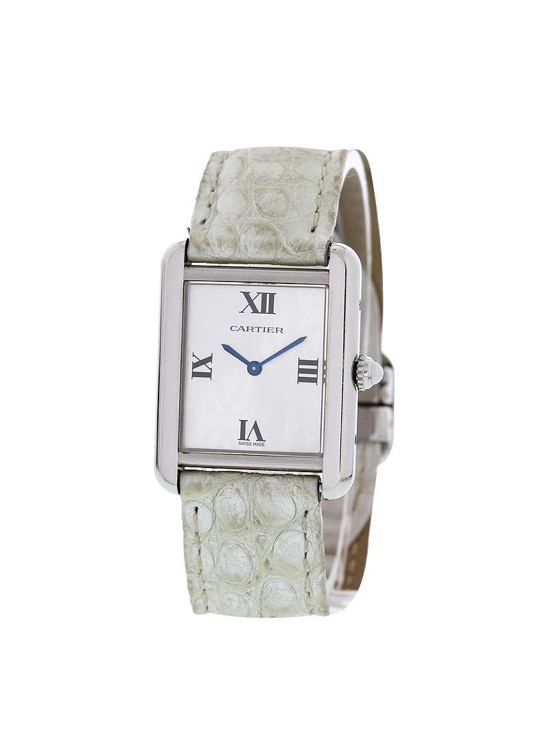 Cartier Tank Solo Small Size in Steel