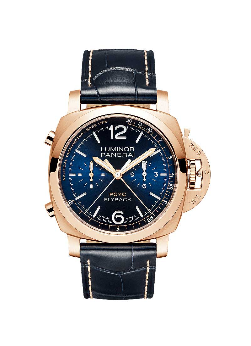 Panerai PAM01020 - Luminor Yachts Challenge 44 mm Chrono Flyback in Rose Gold
