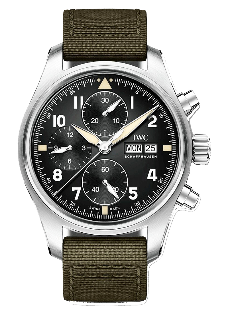 IWC Pilot Spitfire Chronograph in Steel