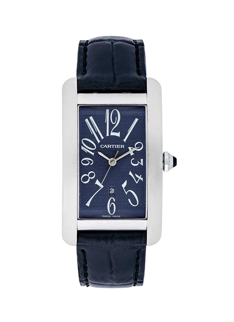 Cartier Tank American in White Gold
