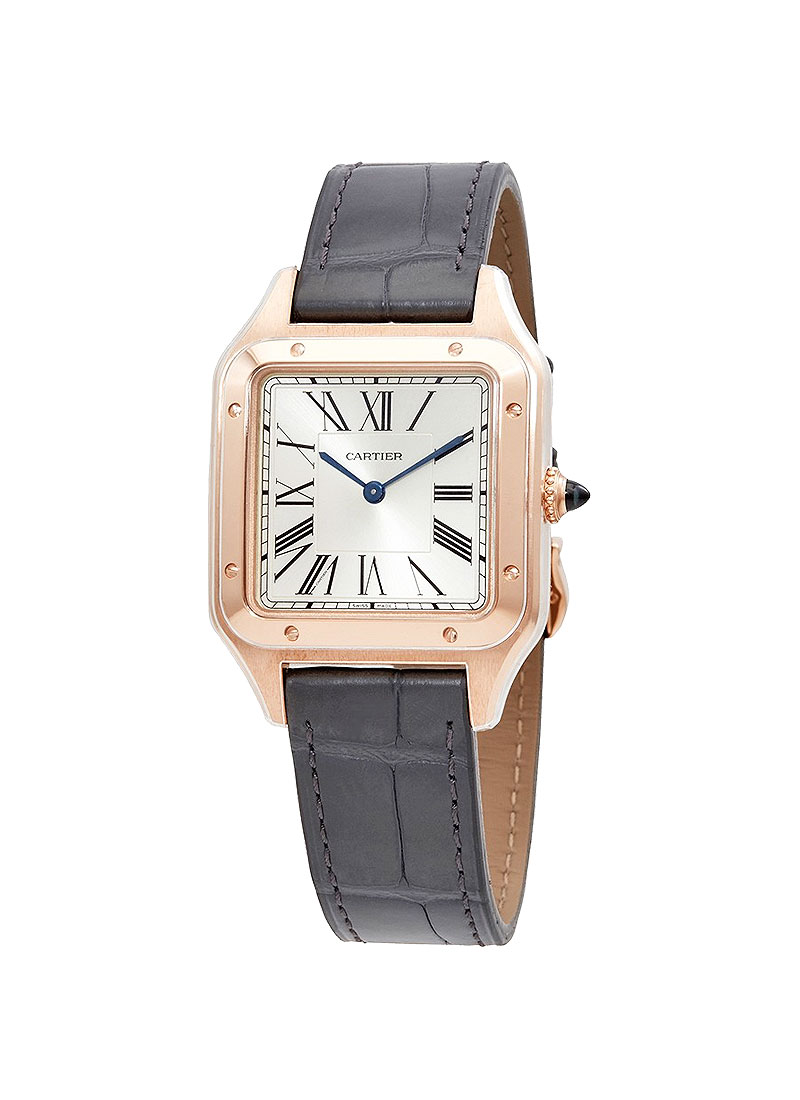 Cartier Santos Dumont in Rose Gold Large Model
