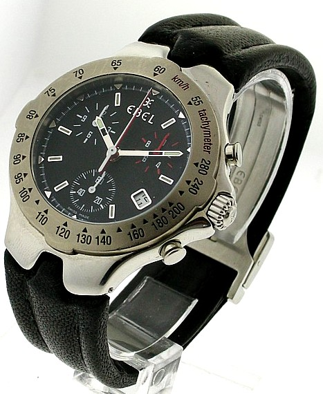 Ebel Sportwave Chronograph on Strap